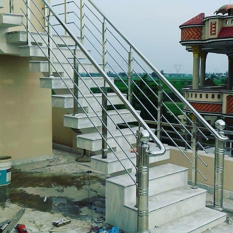 steel railing modular interior 4