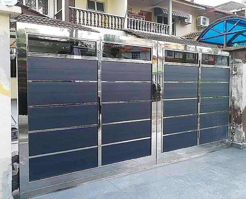 steel gate work modular interior 2