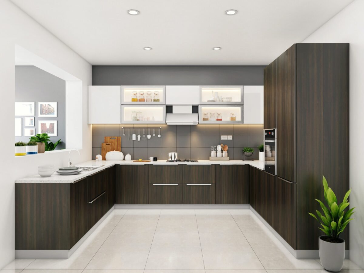 modular kitchen in gorakhpur u shaped modular kitchen modular interior