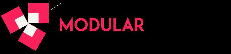 modular interior logo