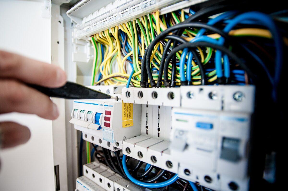 Electrical wiring modular interior 1
