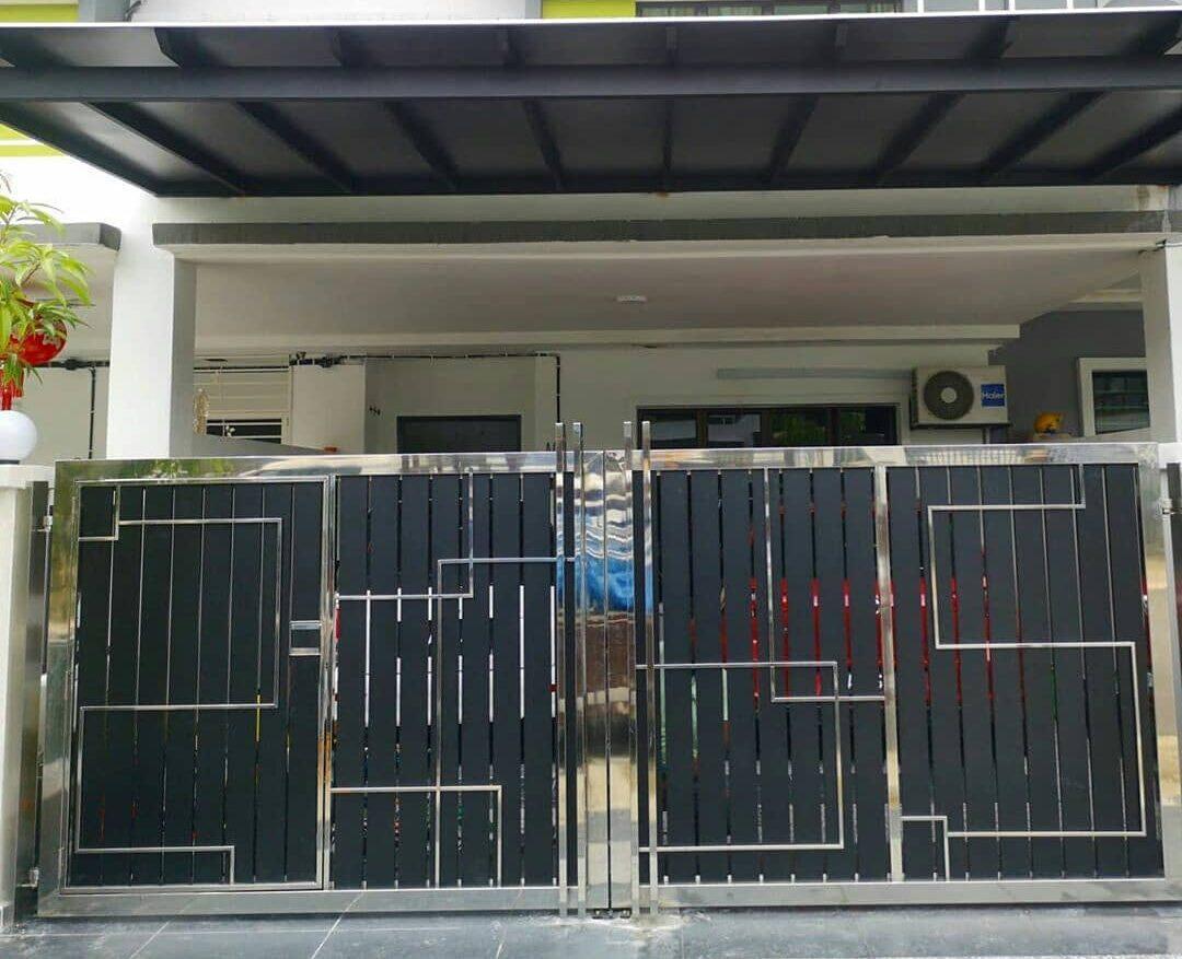 steel gate work modular interior 1