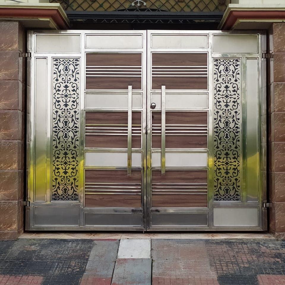 best steel fabricators in Gorakhpur service description steel gates, steel railings