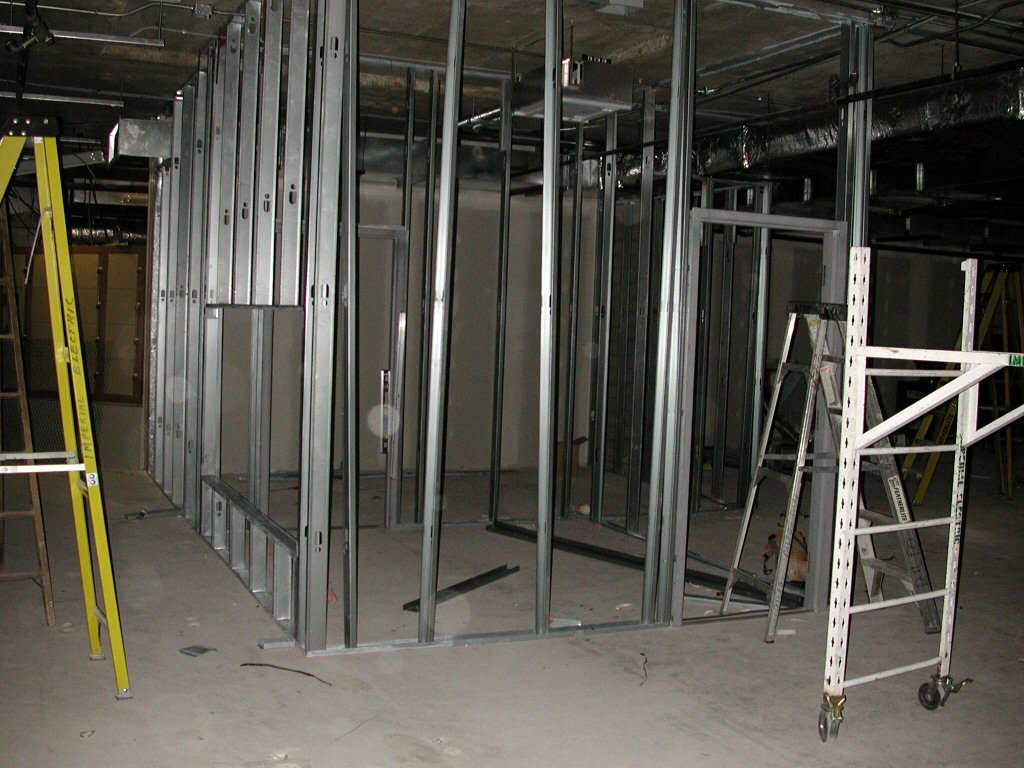 Aluminium, UPVC and glass work partition modular interior 6