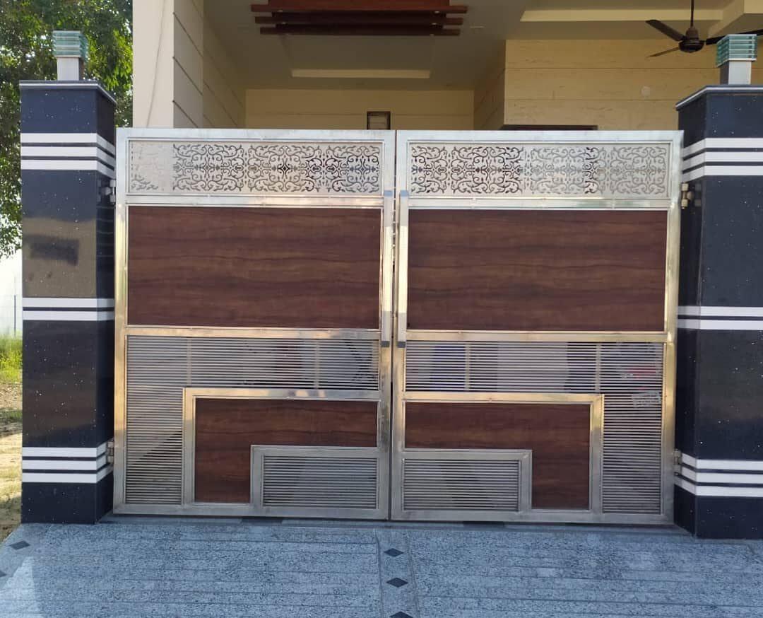 steel gate work modular interior 5