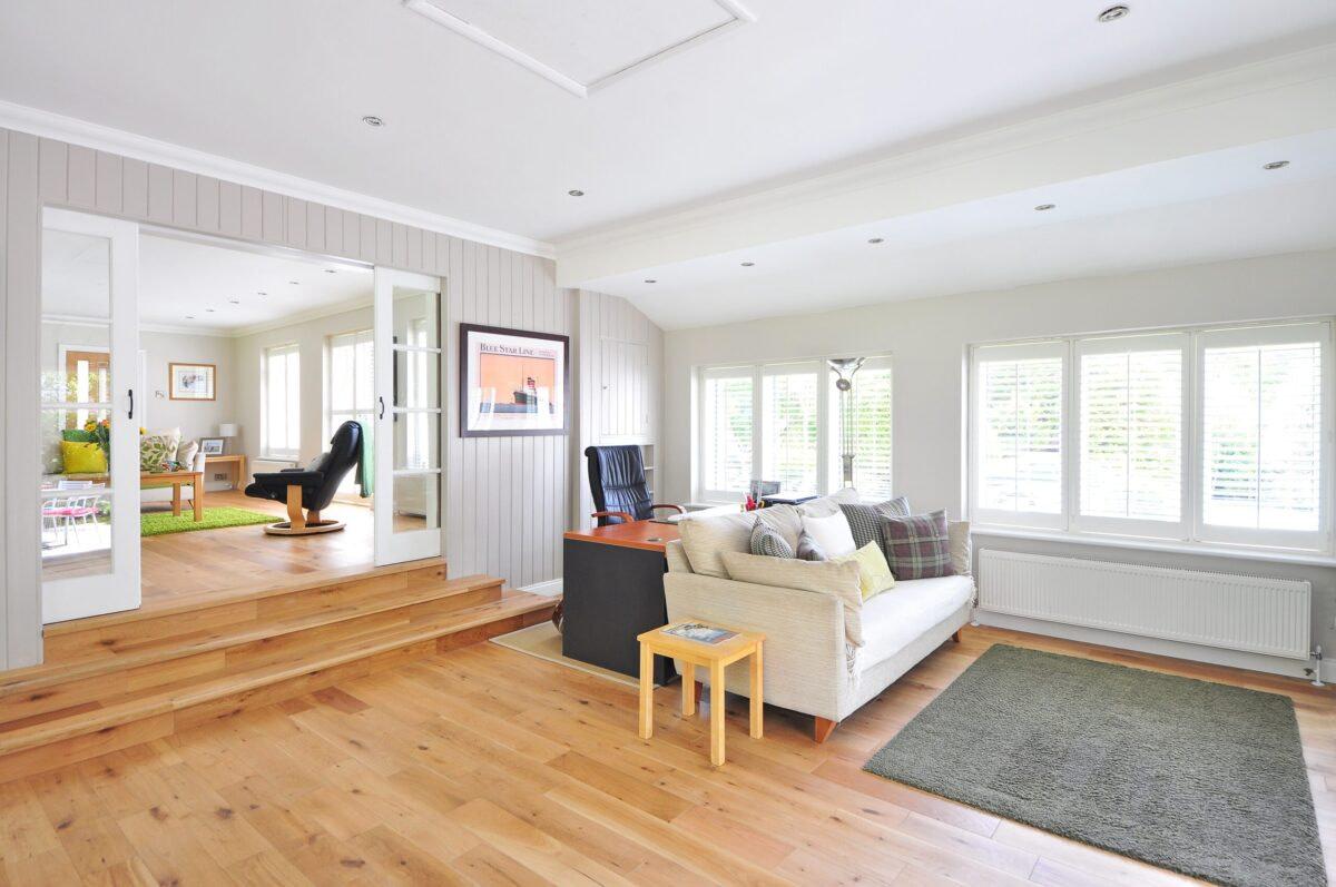 flooring work wooden, laminate, marble, tiles modular interior 3