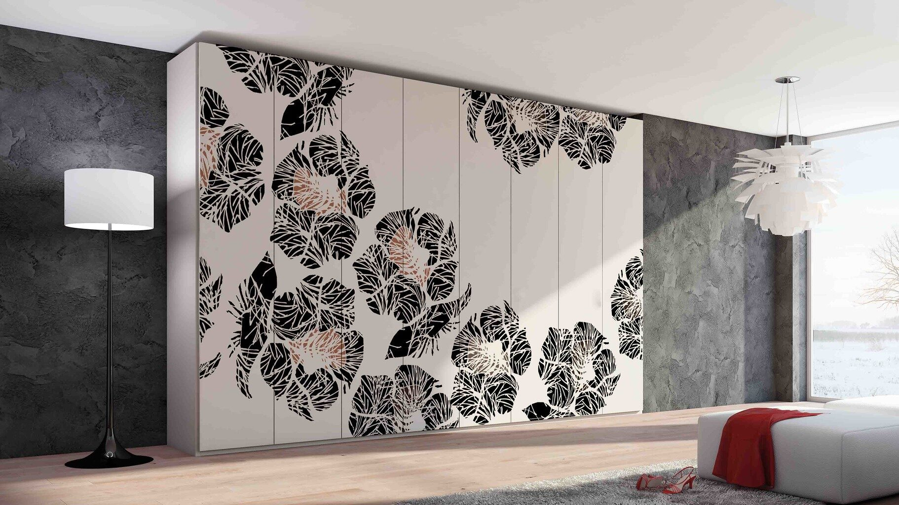 Wallpaper design modular interior 12