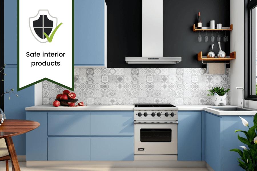 Best Interior designers in Gorakhpur interior design consultancy safety ensured - modular kitchen - modular interior