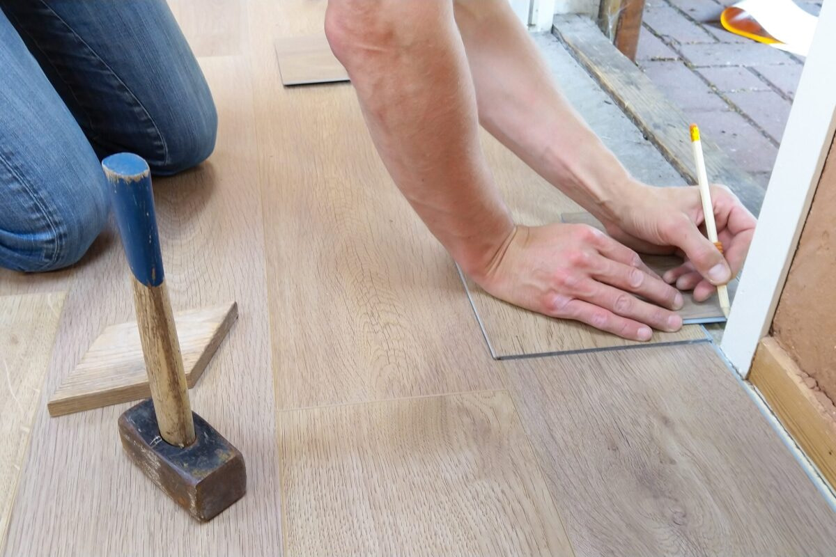 flooring work wooden, laminate, marble, tiles modular interior