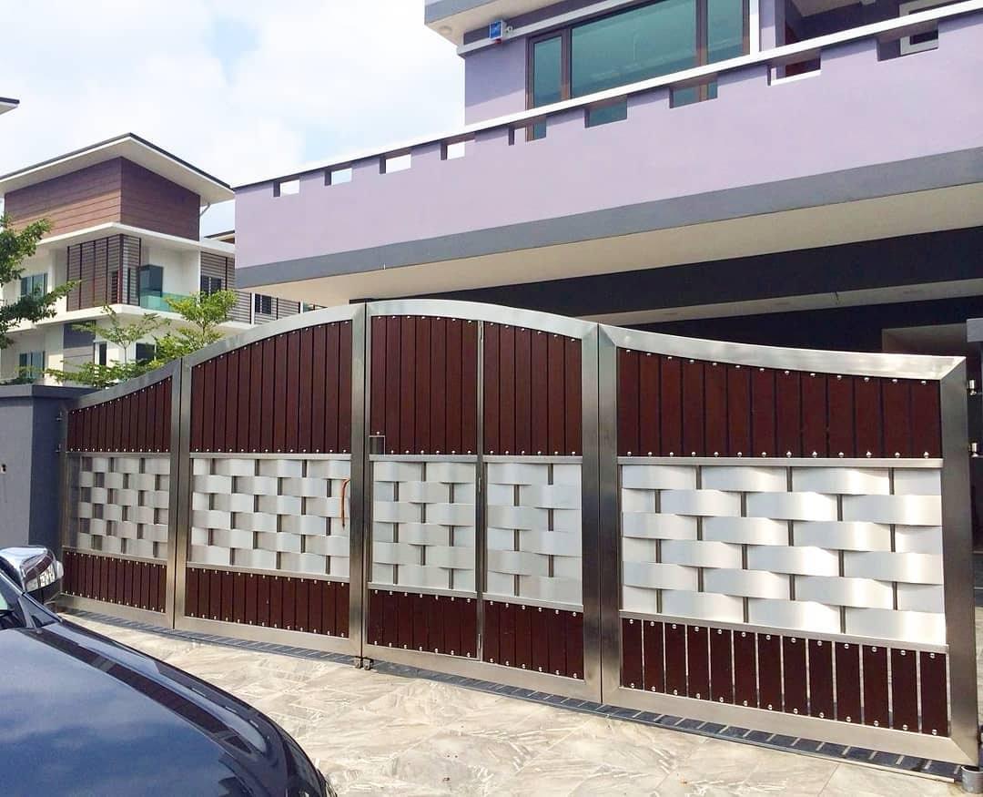 steel gate work modular interior